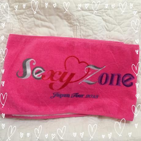 ◇Sexy Zone Japan tour 2013  マフラータオル 未使用品 コンサートグッズの画像