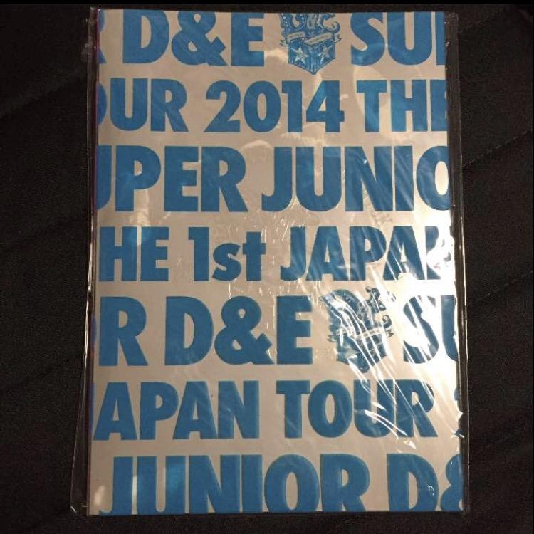 SUPER JUNIOR D&E 写真集 ライブグッズの画像