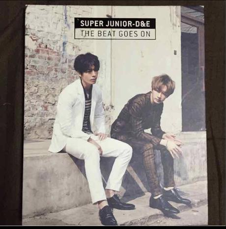 SUPER JUNIOR D&E THE BEAT GOES ON ライブグッズの画像