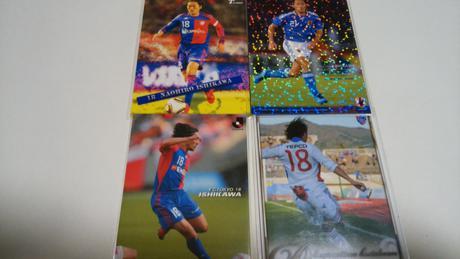 石川直宏選手 カード4枚 グッズの画像