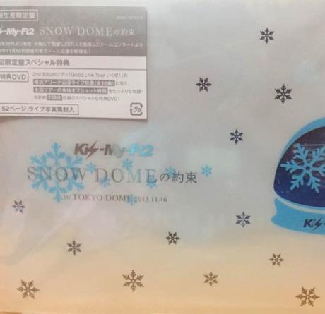 SNOW DOMEの約束 DVD 初回限定盤
