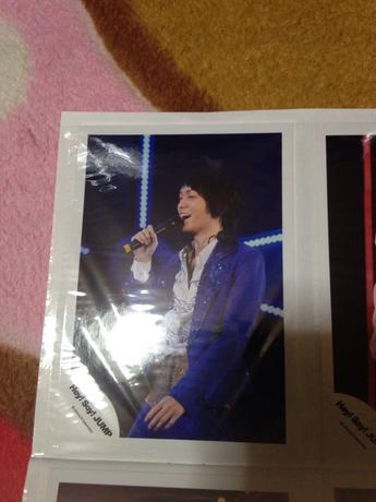 伊野尾慧公式写真 コンサートグッズの画像