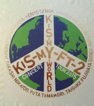Kis-My-Ft2 K-S-M WORLD DVD