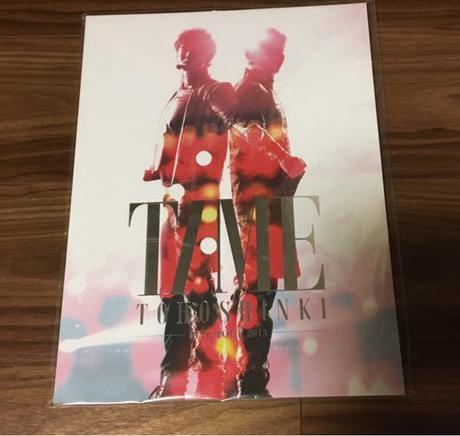 東方神起 TIME 写真集 ライブグッズの画像