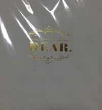 DEAR. パンフレット コンサートグッズの画像