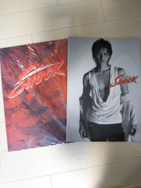 SHOCKパンフレット2008、2009 コンサートグッズの画像