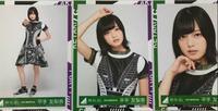 欅坂46サイレントマジョリティー歌衣装 平手友梨奈 生写真3種