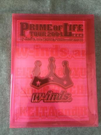 w-inds.ライブPRIME OF LIFEパンフレット ライブグッズの画像