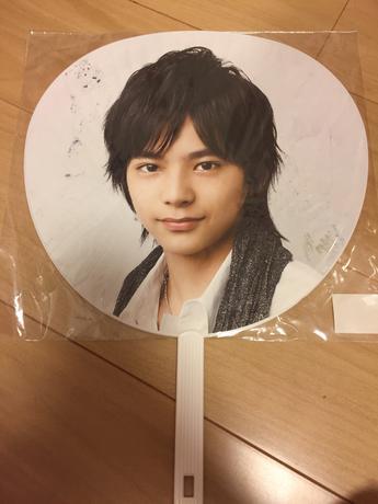 佐藤勝利 うちわ First Concert 2012 コンサートグッズの画像