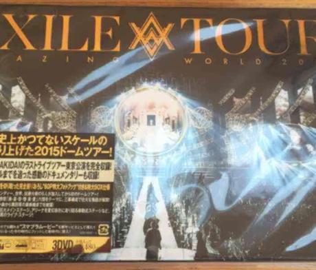 EXILE AW DVD 初回限定盤