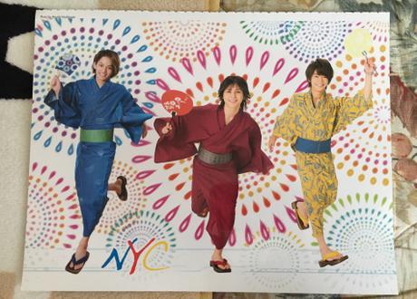Hey!Say!JUMP山田&知念&中山・kis-my北山&藤ヶ谷 両面ポスター コンサートグッズの画像