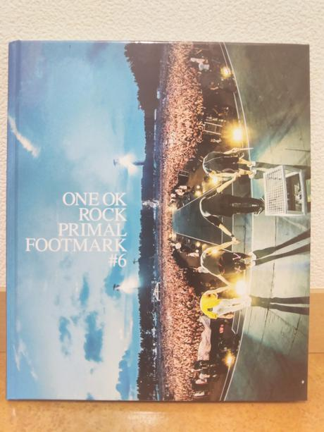 ONE OK ROCK PRIMAL FOOT MARK #6 ライブグッズの画像