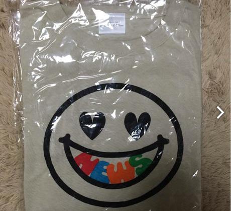 (値下げ)NEWS ツアーTシャツ コンサートグッズの画像