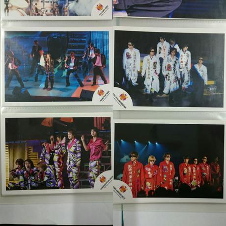 関ジャニ∞ 集合写真10枚セット リサイタルグッズの画像