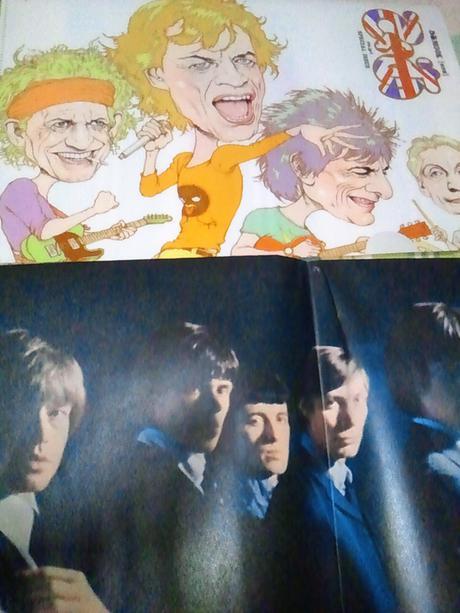 ローリングストーンズ 非売品 ファイルポスターパンフレット ライブグッズの画像