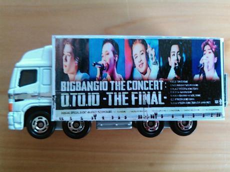 BIGBANG のO.T.O 10ミニカー ライブグッズの画像