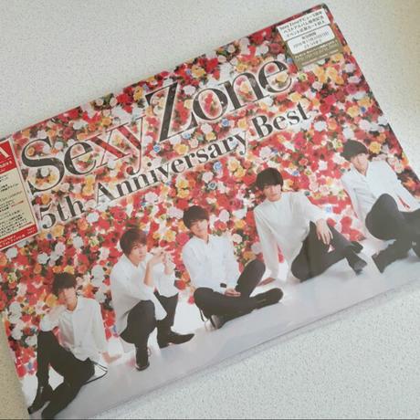 ☆専用☆Sexy Zone 5th anniversary Best初回盤A コンサートグッズの画像