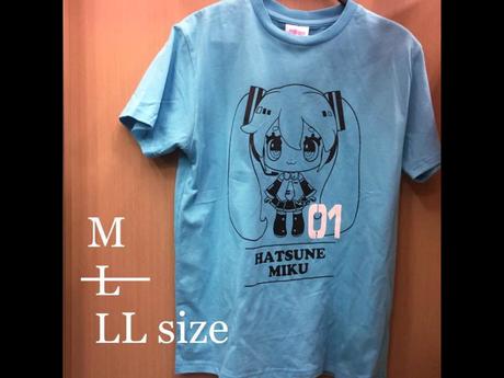 新品 初音ミク Tシャツ しまむら グッズの画像