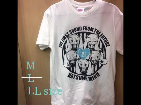 新品 初音ミク 5面相 Tシャツ LL グッズの画像