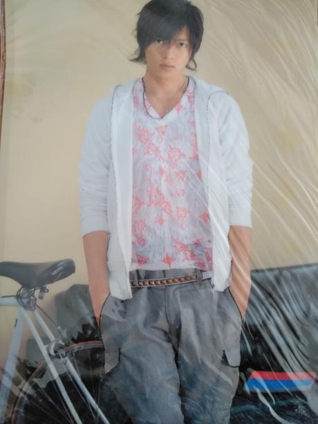 山下智久クリアファイル2007送料無料 コンサートグッズの画像