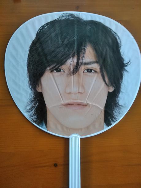 NEWS Ryo 2006ツアーうちわ送料無料 コンサートグッズの画像