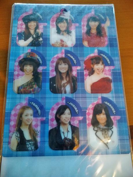 AKB48クリアブックマーク送料無料 ライブ・総選挙グッズの画像