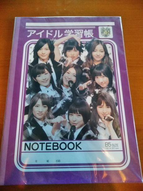 AKB48アイドル学習帳新品送料無料 ライブ・総選挙グッズの画像