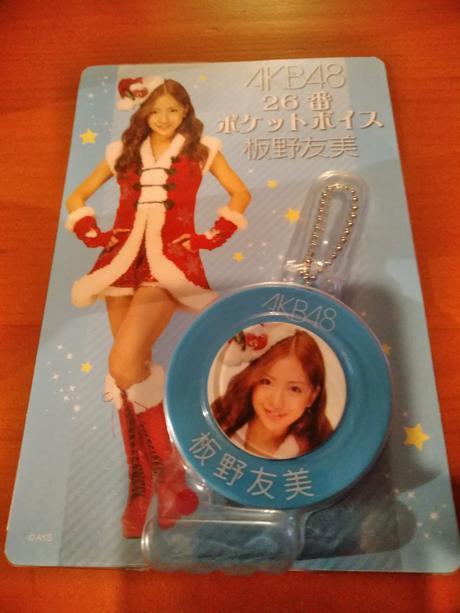 AKB48ポケットボイス板野友美送料無料 ライブ・総選挙グッズの画像
