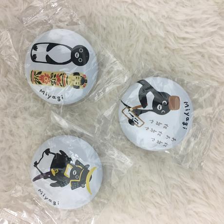 【非売品】Suicaペンギンの缶バッジ 宮城編 グッズの画像