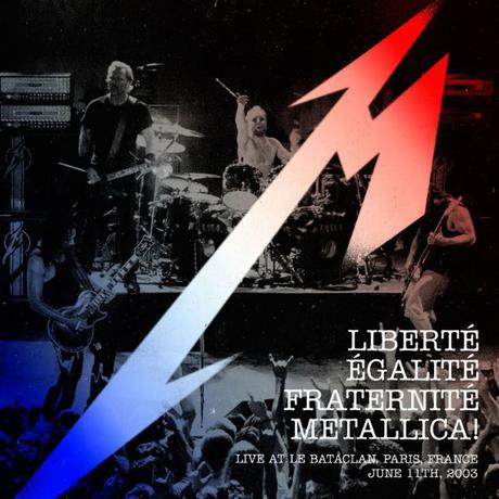メタリカ 限定版 Libert, Egalit, Fraternit, ライブグッズの画像