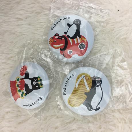 【非売品】Suicaペンギンの缶バッジ 福島編 グッズの画像
