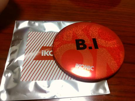 iKON anation 缶バッジ 会場限定 ハンビン ライブグッズの画像