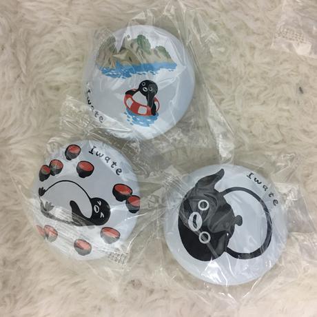 【非売品】Suicaペンギンの缶バッジ 岩手編 グッズの画像