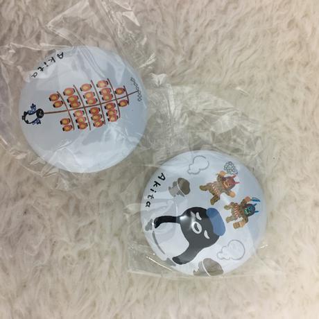 【非売品】Suicaペンギンの缶バッジ 秋田・青森編 グッズの画像