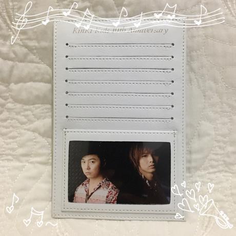◇KinKi Kids 10周年記念品 オリジナルカード コンサートグッズの画像