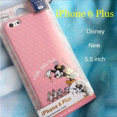 新品 ijacket iPhone6 Plus プラス ケース ミニー ディズニーグッズの画像