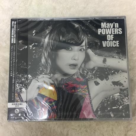 May'n POWER OF VOICE 初回限定版B ライブグッズの画像