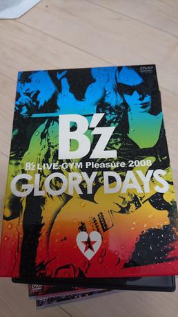 B'z GLORY DAYS DVD ライブグッズの画像