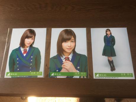 欅坂46 二人セゾン 渡邉 理佐 生写真コンプ ライブ・握手会グッズの画像