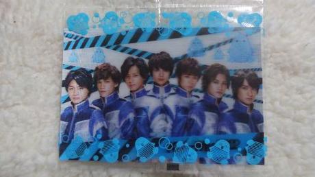 キスマイ「ウナコーワ」3Dカード☆非売品 コンサートグッズの画像