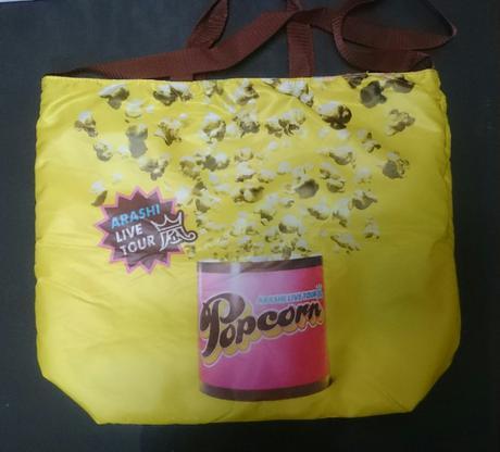値下げ♪新品 嵐 ショッピングバッグ (Popcorn) コンサートグッズの画像