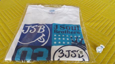 三代目jjsbツアーTシャツBPホワイトMサイズ(おまけ付き) ライブグッズの画像