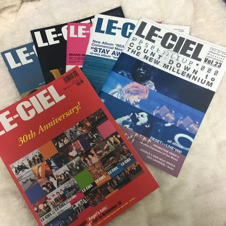 ラルク FC会報 別冊 1999グランドクロスツアー グッズカタログ ライブグッズの画像