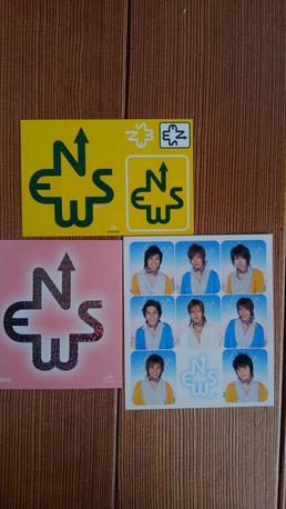 CDの特典シール コンサートグッズの画像