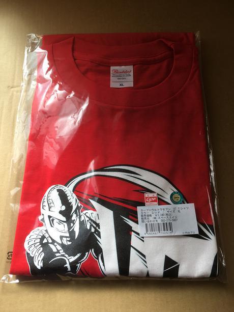 カープ×ウルトラマンセブン V7 Tシャツ XL グッズの画像