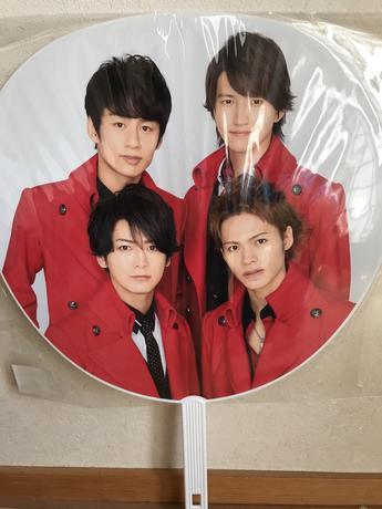 KAT-TUN ジャニーズカウントダウン2015〜2016団扇 グッズの画像