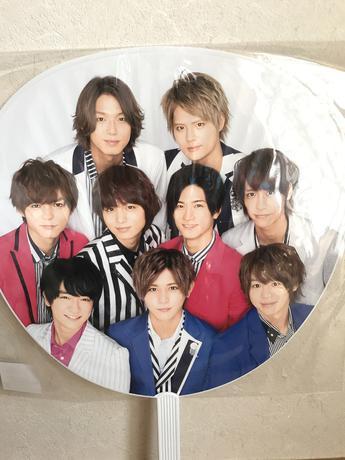 Hey!Say!JUMP ジャニーズカウントダウン2015〜2016団扇 コンサートグッズの画像
