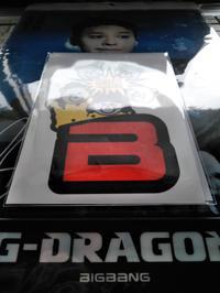 BIGBANG KRUNKステッカーB送料無料 ライブグッズの画像 2枚目