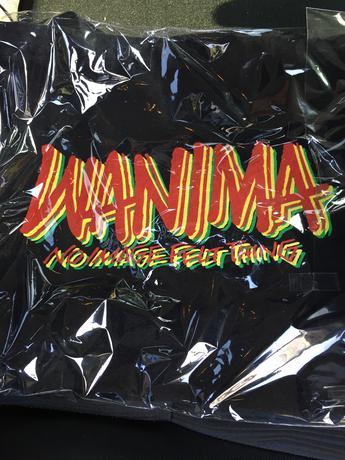 WANIMA トートバッグ※銀テープ ライブグッズの画像