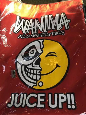 WANIMA スクールバッグ※銀テープ ライブグッズの画像